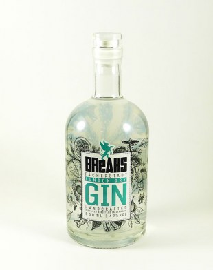 Breaks Premium Dry Gin 500ml