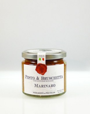 Pesto e Bruschetta Marinaro