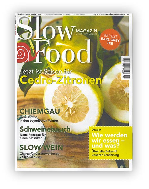 Slow Food Magazin 01/20